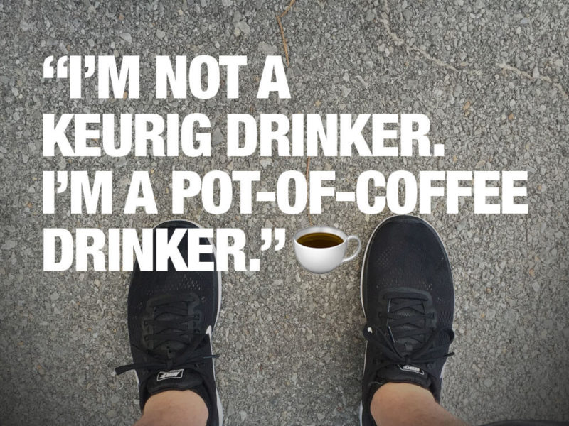 Running Without Coffee Sucks