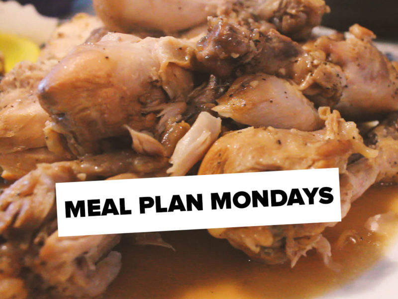 Meal Plan Monday – May 1st