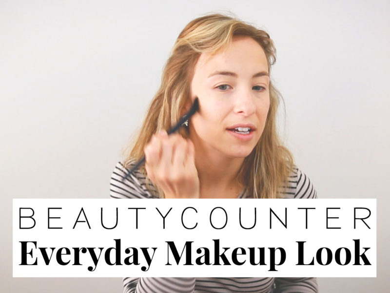 Beautycounter Everyday Makeup Look (Video)